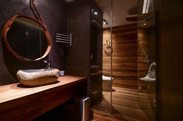 'Căn nhà gỗ giữa rừng Bắc Âu' ở Hà Nội đốn tim khách khó tính - 12