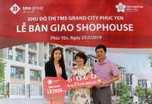 Khách hàng dự án TMS Grand City Phuc Yen hào hứng nhận bàn giao nhà - 1