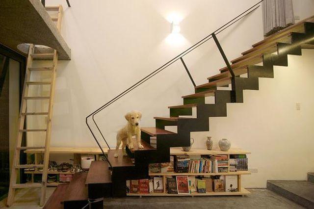 Nhà trong hẻm đẹp thoáng mát của chàng độc thân Hà Nội trên báo Tây - 6