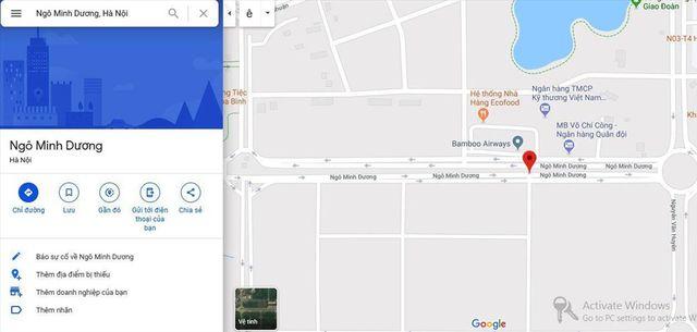 Kỳ lạ: Đường mới mở ở Hà Nội bỗng dưng có tên...Ngô Minh Dương - 4