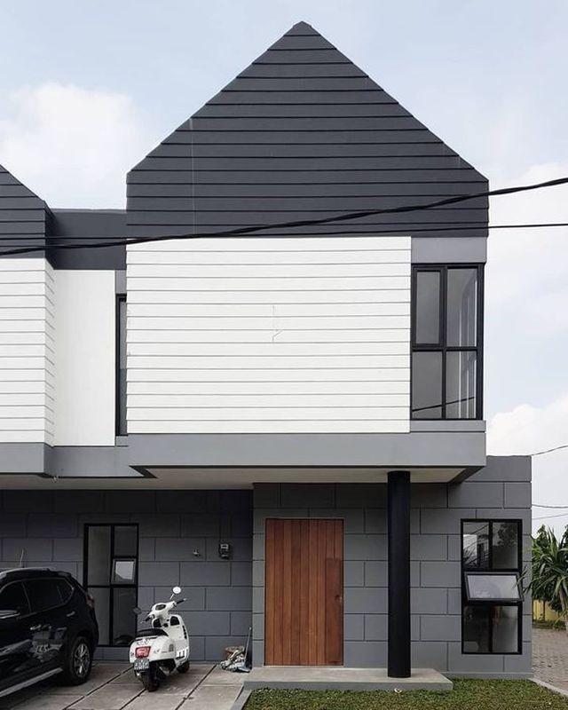 Những kiểu nhà mái và mặt tiền khác biệt gây tò mò nhưng siêu ấn tượng - 2