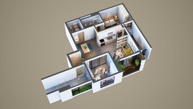 Bonanza 23 Duy Tân - Biến hóa thiết kế cho căn hộ 2 phòng ngủ - 4