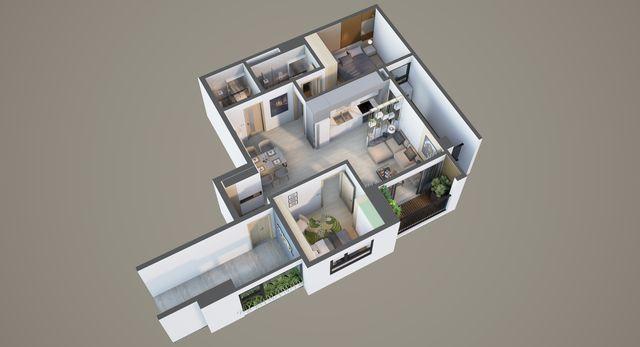 Bonanza 23 Duy Tân - Biến hóa thiết kế cho căn hộ 2 phòng ngủ - 6