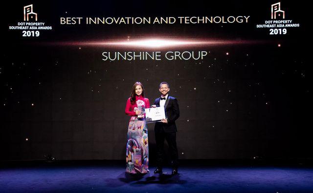 Sunshine Group - Nhà đầu tư Đổi mới sáng tạo và Ứng dụng công nghệ tốt nhất Đông Nam Á - 2