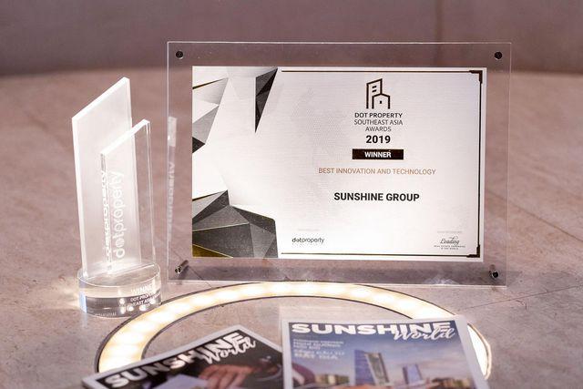 Sunshine Group - Nhà đầu tư Đổi mới sáng tạo và Ứng dụng công nghệ tốt nhất Đông Nam Á - 3