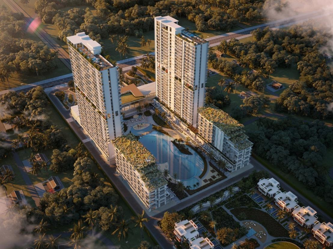 """Khuôn viên rộng 6.000 m2 của Aria Đà Nẵng tích hợp tiện ích """"all in one – tất cả trong một"""""""