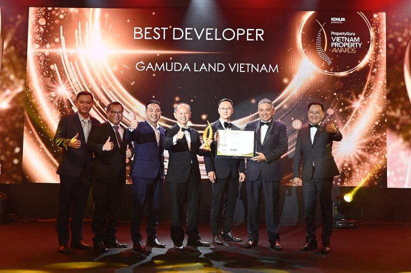 Gamuda Land Việt Nam đã xuất sắc giành được 8 giải thưởng trong số 12 đề cử